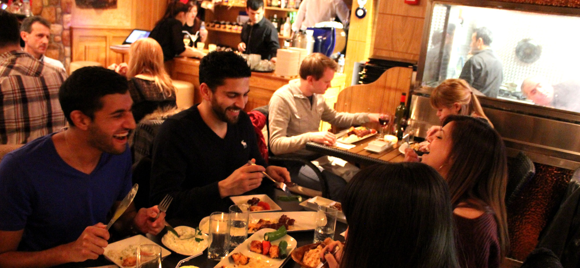 GeziPark Restaurant, Wanstead, East London, Turkish Cuisine, Grill, Meze Bar
