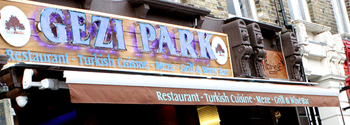 Gezi Park Restaurant, Wanstead, East London